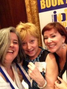 Selfie with Marilyn Allen, Literary Agent and Catherine Goulet, Founder and Awards Chairperson